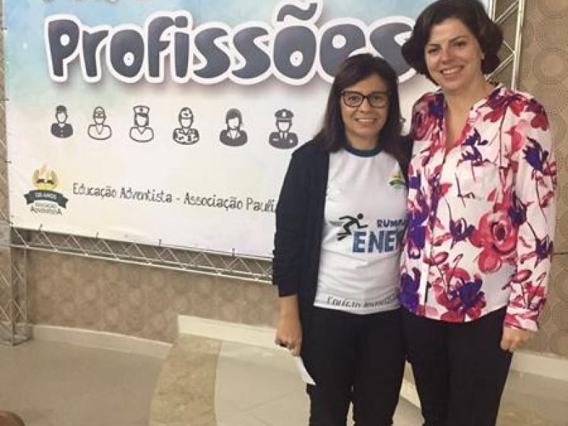 Colégio Adventista Santo André - 1ª Feira de profissões