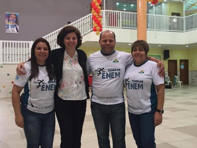 Colégio Adventista de Santos -  1ª Feira de Profissões