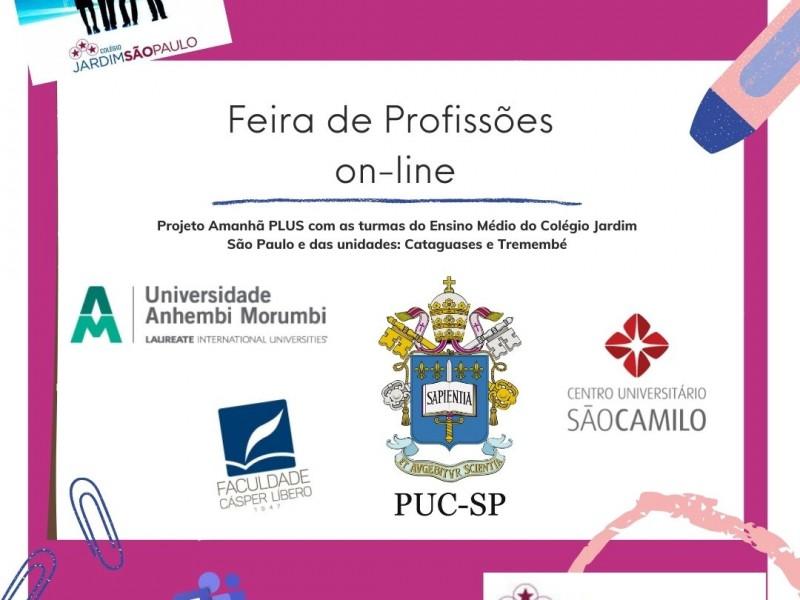 Feira de Profissões on-line - Colégio Jardim São Paulo