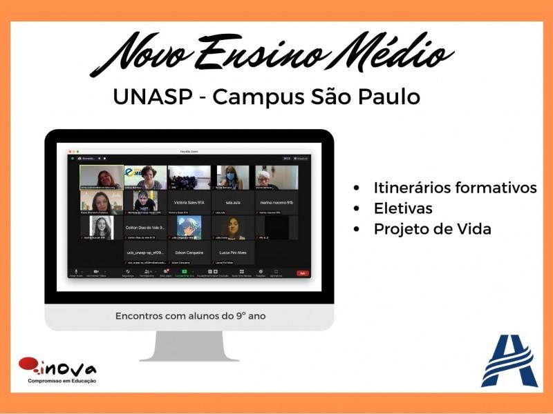 Colégio Adventista UNASP - São Paulo Novo Ensino Médio