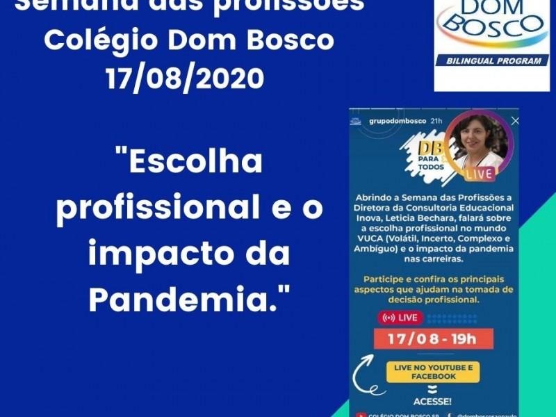 Colégio Dom Bosco - Feira de profissões