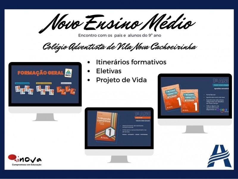 Colégio Adventista de Vila Nova Cachoeirinha - Novo Ensino Médio