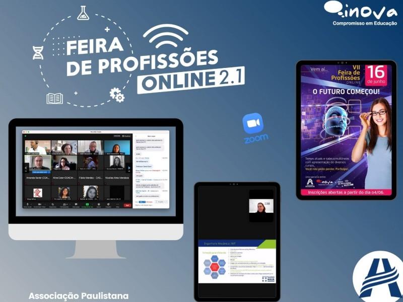 Feira de Profissões on-line - Rede Adventista Paulistana