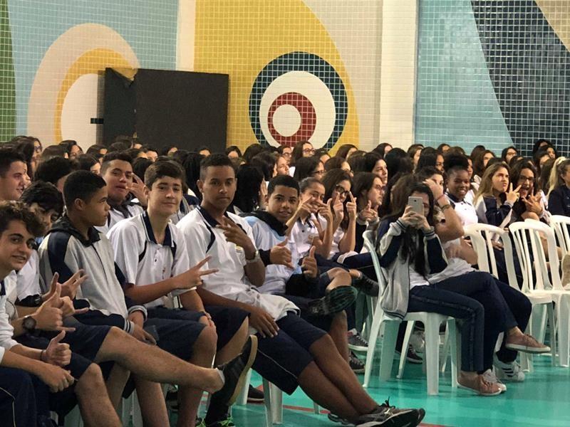 Colégio Adventista Santos -  2ª Feira de Profissões
